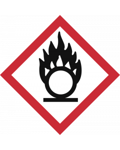 GHS Symbol 03 – Flamme über Kreis