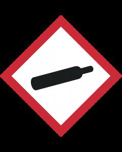 GHS Symbol 04 – Gasflasche