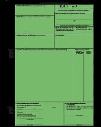 Warenverkehrsbescheinigung (deutsch)