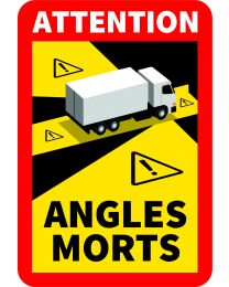Toter Winkel-Aufkleber LKW mehr als 3,5 Tonnen